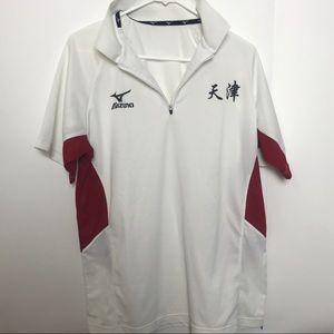 Mizuno golf shirt unique design